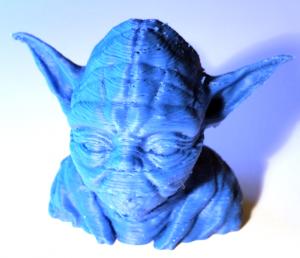 Final Yoda 3D Print