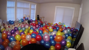 All of your unpopped balloons